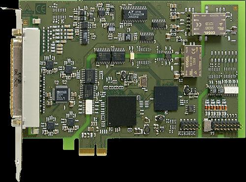 PCI express Analog I/O cards