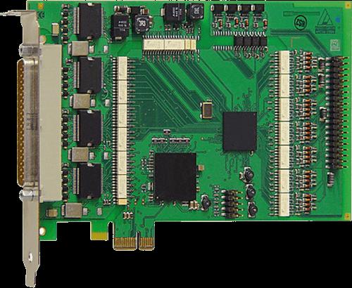 PCI express Digital I/O cards