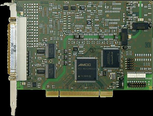 PCI analog input/output card