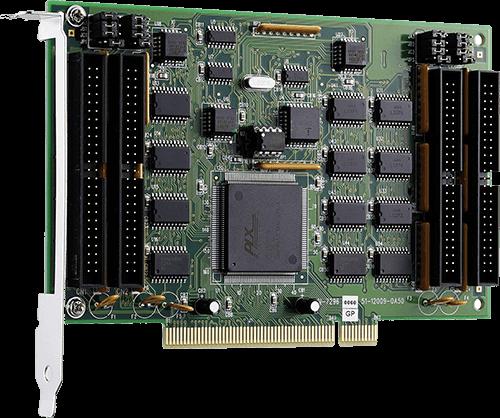 Digital input/output PCI cards